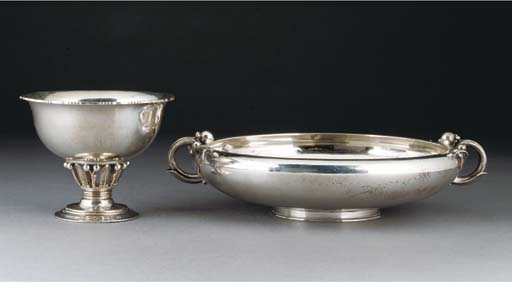 'Louvre' A silver tazza