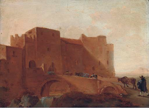 Circle of Jan Asselyn (Dieppe