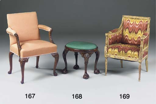 A GILTWOOD BERGERE