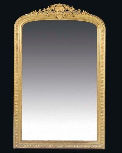 A FRENCH GILT COMPOSITION OVER