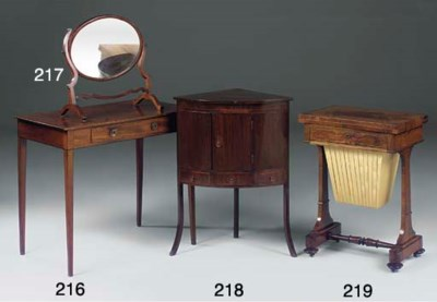 An early Victorian rosewood wo