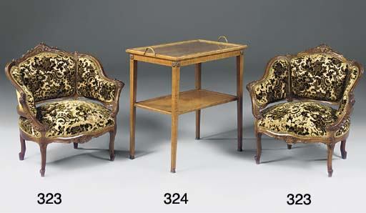 A FRENCH SATINWOOD AND ORMOLU