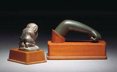 A GRAECO-EGYPTIAN STEATITE 'ER