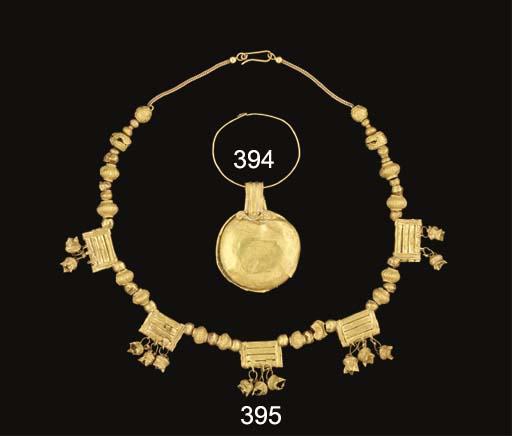 A ROMAN GOLD BULLA