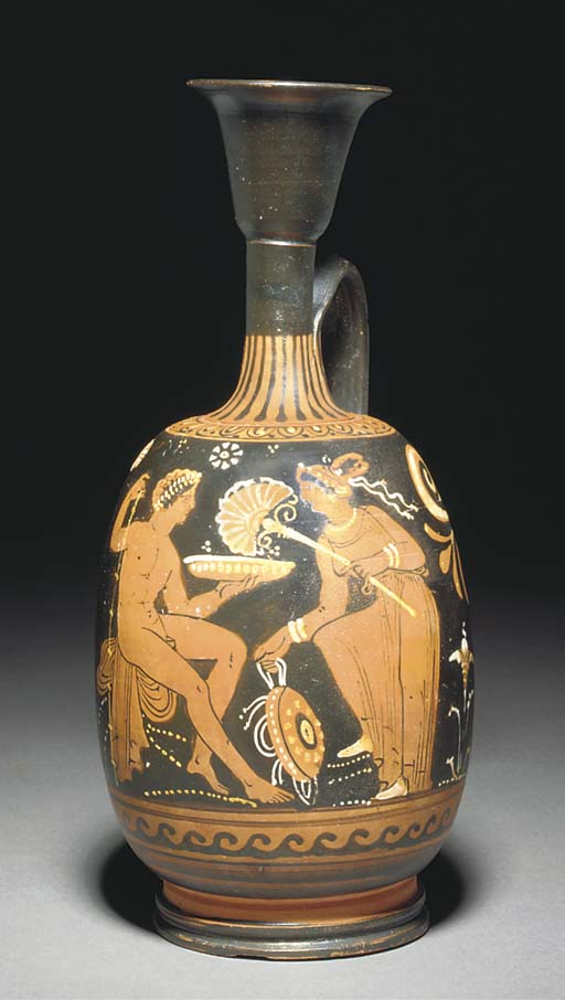 A LARGE APULIAN RED-FIGURE SQU