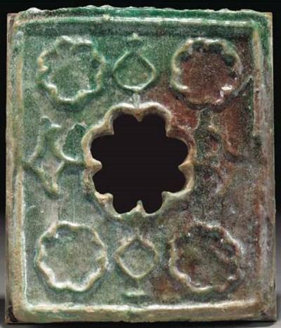 A Khorassan turquoise glazed m