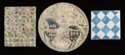 A Nishapur tile fragment, Iran