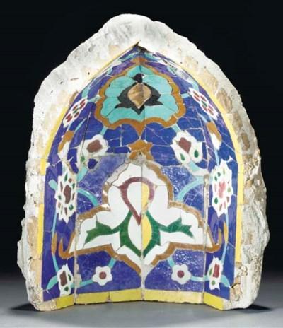 A tile mosaic niche, Iran, 19/