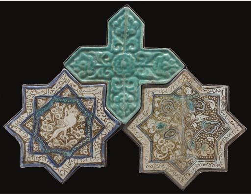 Three star and cross tiles, Ir