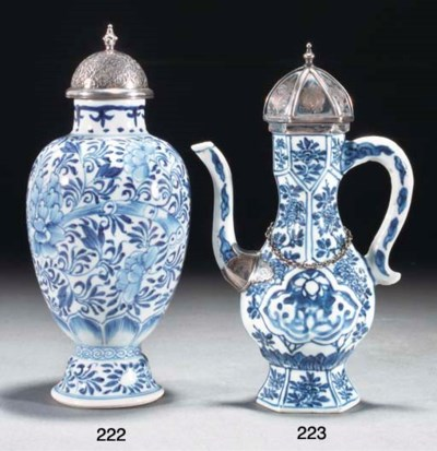 A Chinese Islamic market blue