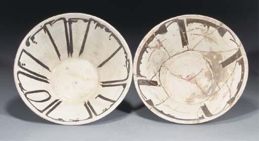 Two Nishapur bowls, 10th Centu