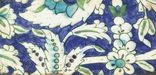 A Damascus tile fragment, 17th