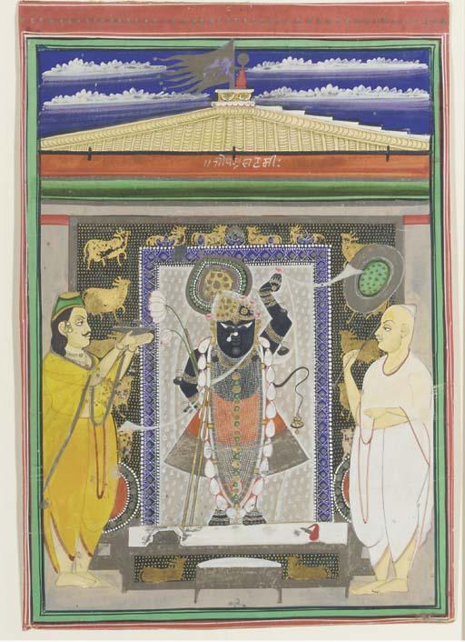 SHRI NATHAJI, NATHDWARA, EARLY