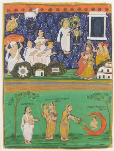 THE BIRTH OF KRISHNA, NATHADWA