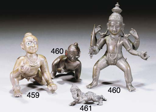 A small Indian bronze model of