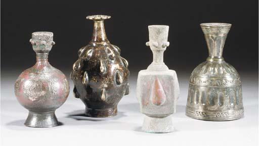 A group of nine seljuk bronze