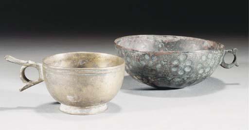 Two Ghaznavid handled cups, 12