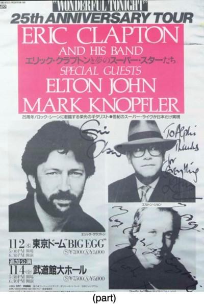 Eric Clapton/Elton John/Mark K