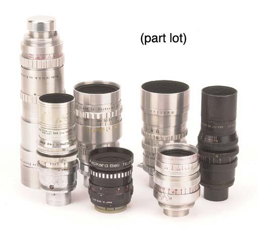 Cinematographic lenses