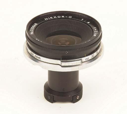 Nikkor-O f/4 2.1cm. no. 220848