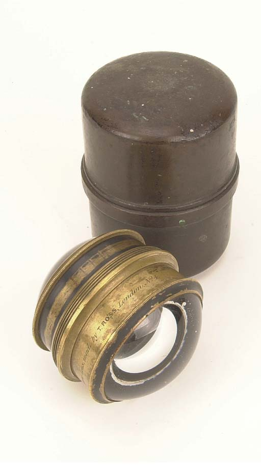 Sutton's Patent Panoramic lens