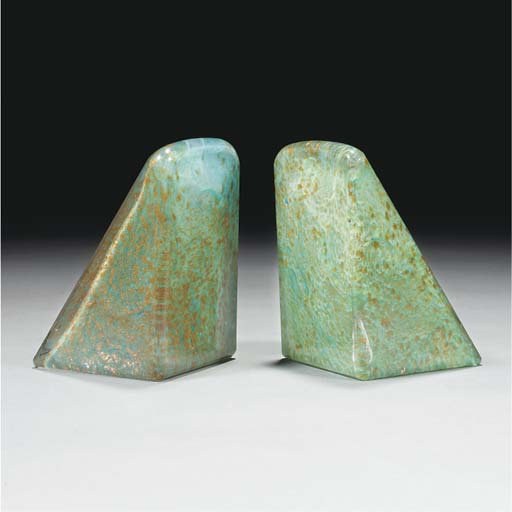 A Pair of Monart Bookends