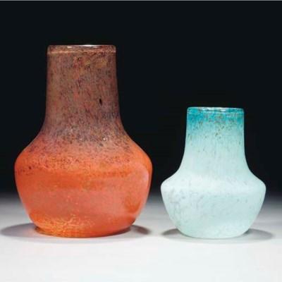 A Monart FB Vase
