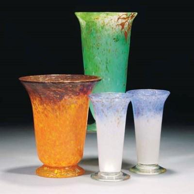 A Monart TC Vase