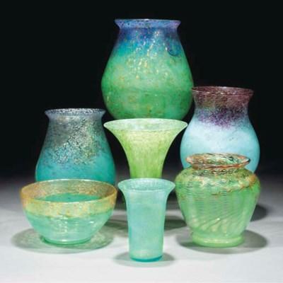 A Monart SA Vase