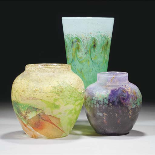 A Monart QB Vase