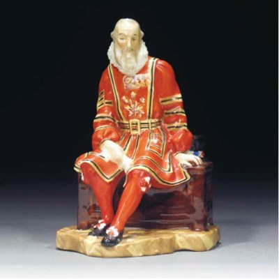 A Royal Doulton Yeoman of the