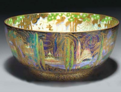 A Wedgwood Fairyland Lustre Wo