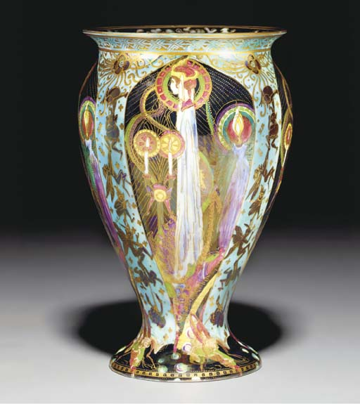 A Wedgwood Fairyland Lustre Ca