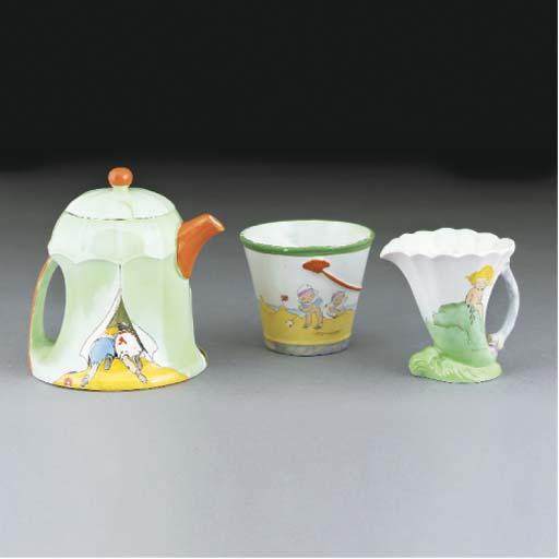A Shelley Three Piece Nursery