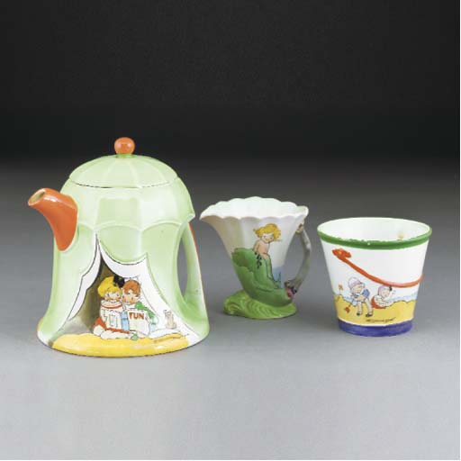 A Shelley Nursery Tea Service