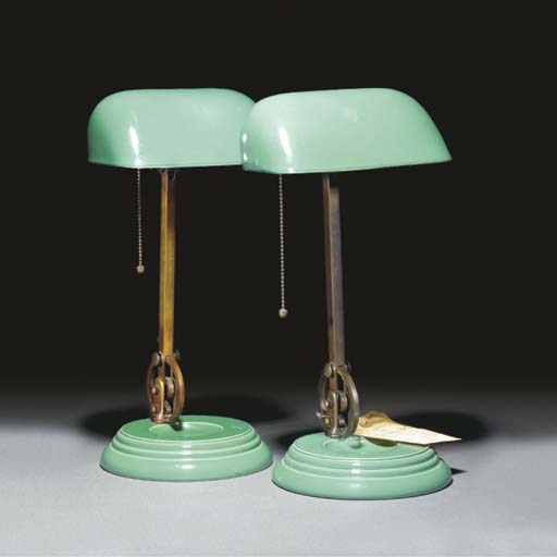 A Pair of Wedgwood Desk Lamps