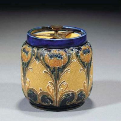 A Macintyre Tobacco Jar and Co