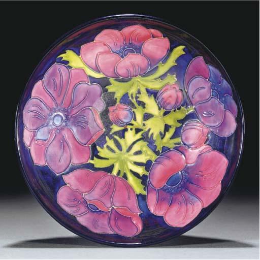 A Moorcroft Anemone Bowl