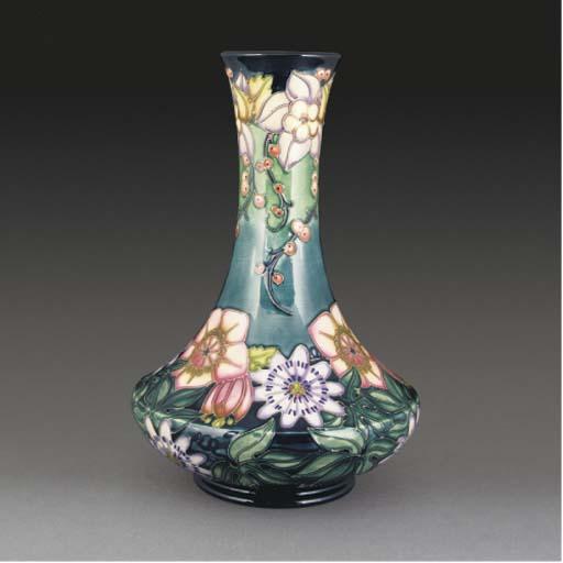 A Moorcroft Carousel Vase