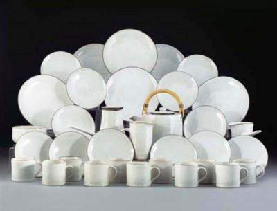 A Dame Lucie Rie Stoneware Tea