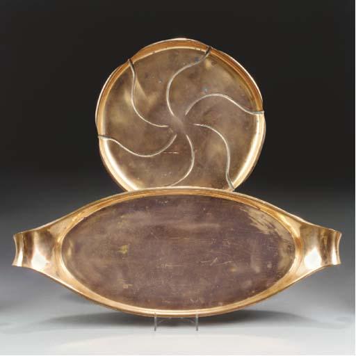 A WAS Benson Copper Tray