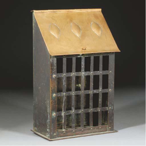 A Copper Letter Box