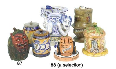 A Collection of various potter