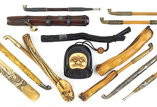 A selection of Japanese 'tonko