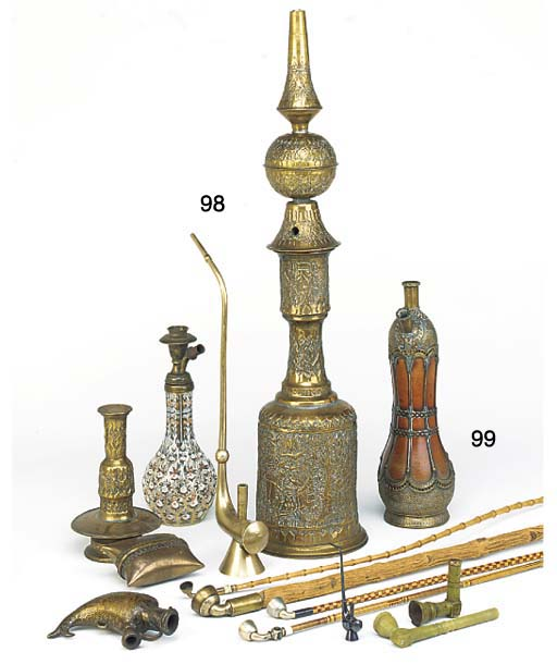 A collection of various Huqqa