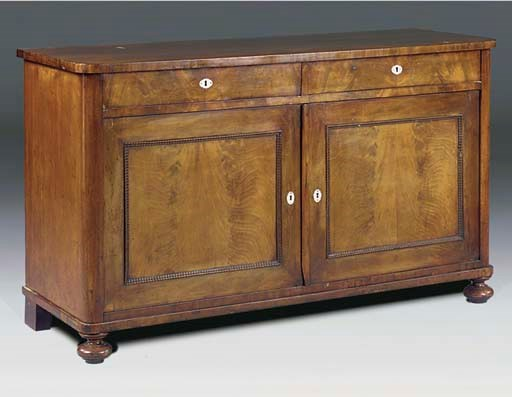 A DANISH MAHOGANY BUFFET