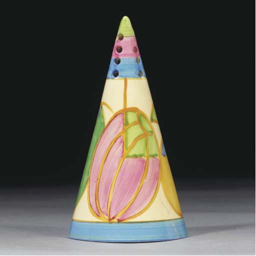 A Pastel Melon Conical Sugar S
