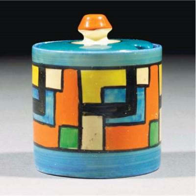A Mondrian Preserve Pot and Co