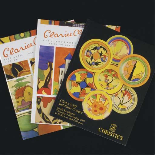 Twenty Christie's Clarice Clif