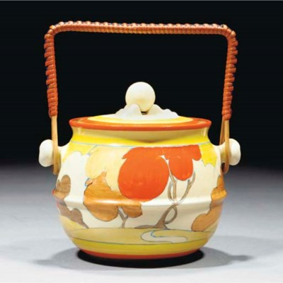 An Autumn Biscuit Barrel and C